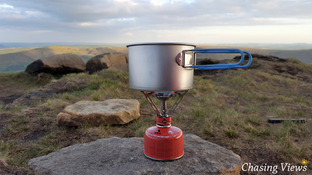 Cooking on Kinder Scout