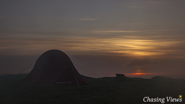 Sunrise from Kinder Scout