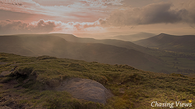 View towards Lose Hill from Kinder Scout