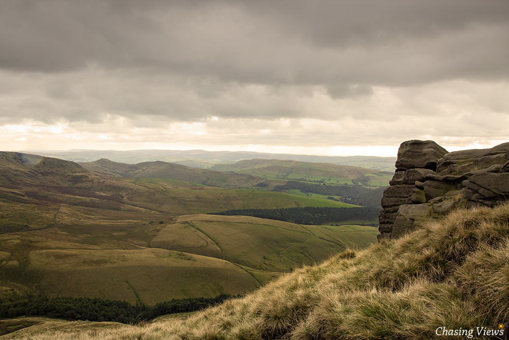 View from Kinder Scout