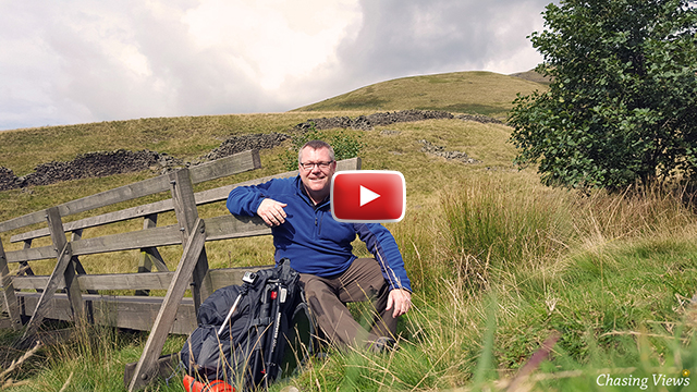 Walking & Wild Camping on Kinder Scout