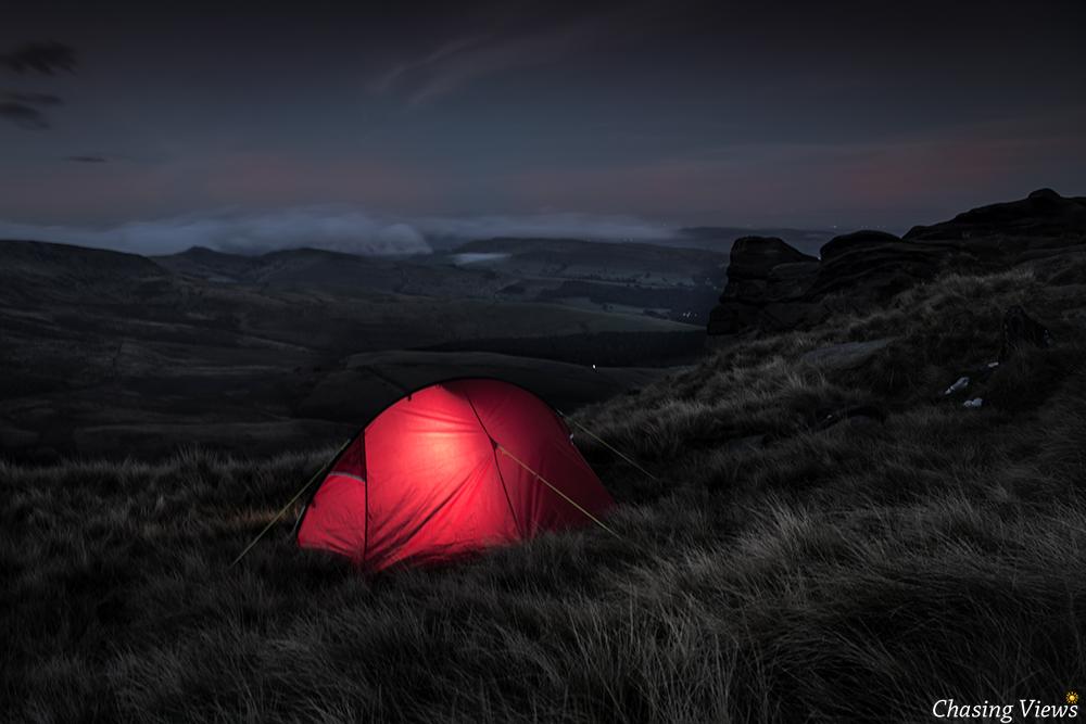 Base camp early morning
