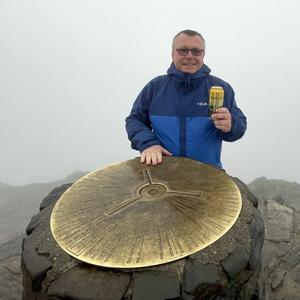 Ash Wrought on Mount Snowdon summit