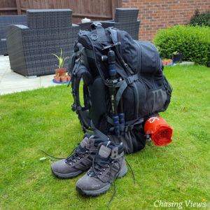 Hi Gear Long Haul Travel Pack (80+15L) for wild camping