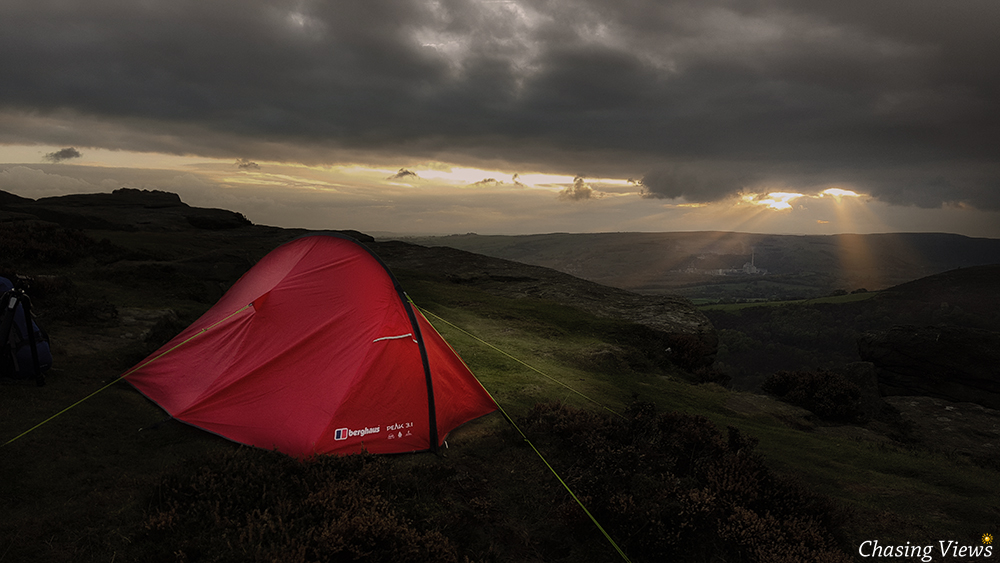 Basecamp on Bamford Edge