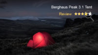 Berghaus Peak 3.1 Tent Review