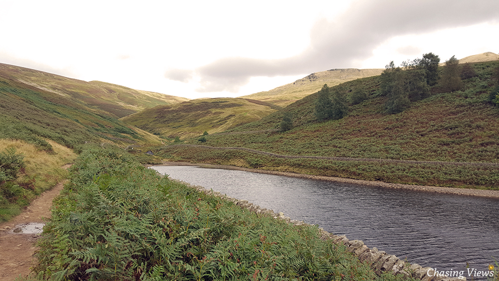 Kinder Reservoir towards William Clough
