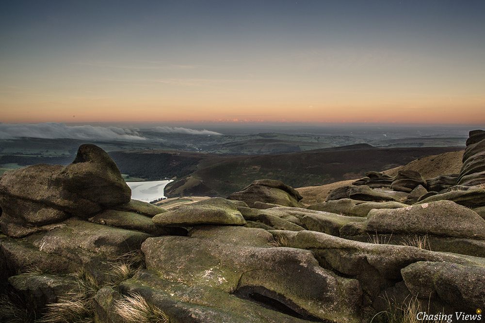 Sunrise over Kinder Scout
