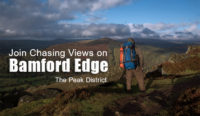 Wild Camping on Bamford Edge